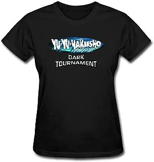 XIULUAN Women's Yu Yu Hakusho Dark Tournament Game Logo T-Shirt