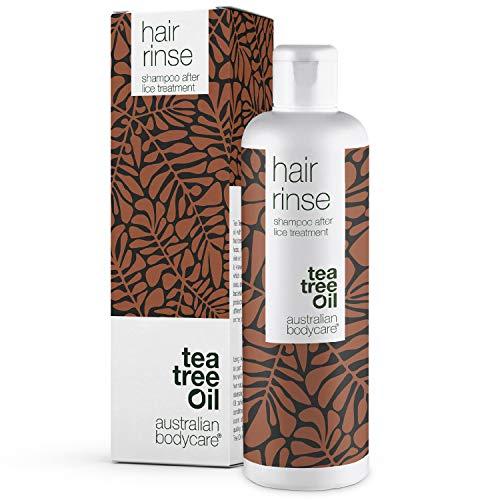 Australian Bodycare Hair Rinse 250ml | Kopfläuseshampoo nach der Kopfläusebehandlung für die ganze Familie | Teebaumöl Shampoo mit 100% natürlichem Teebaumöl
