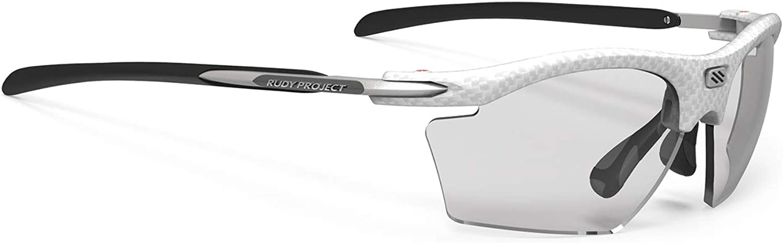Rudy Project Rydon Slim Glasses White CarboniumImpactX Photochromic 2 Black 2019 Cycling Glasses