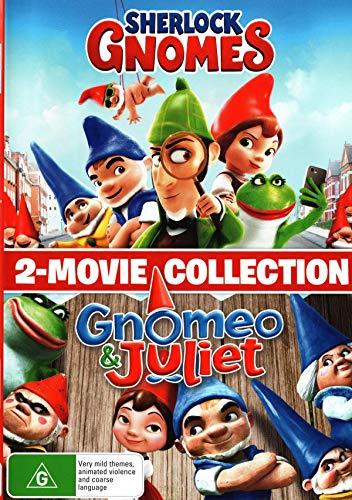 Sherlock Gnomes + Gnomeo & Juliet | 2 Movie Collection | NON-USA Format | PAL | Region 4 Import - Australia