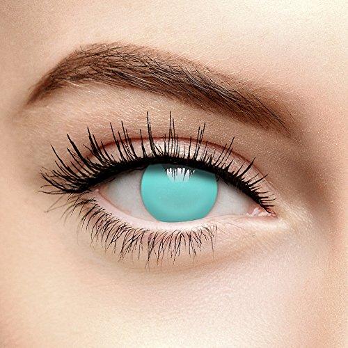 Coloured Contacts Farbige Kontaktlinsen Ohne Stärke Blind Blau (Tageslinsen)