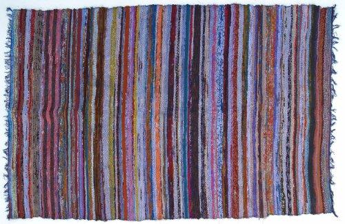 Guru-Shop Más Fácil de Remiendo, Edredón de Remiendo 100 x 160 cm, Multi Blue, Algodón, Color: Multi Blue, Alfombras y Tapetes