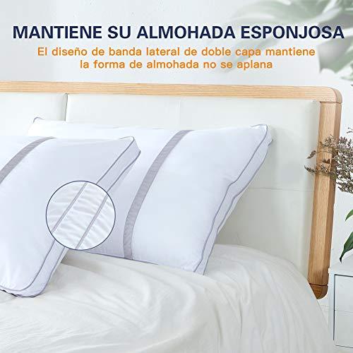 BedStory Pack de 2 almohadas antiácaros - 6