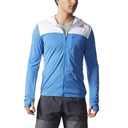 Adidas Stretchjacket M Veste Homme, Bleu/Blanc, FR (Taille Fabricant : XL)