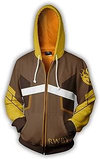 RWBY Yang Xiao Long 3D Printed Cosplay Costume Hoodies Sweatshirt Jacket