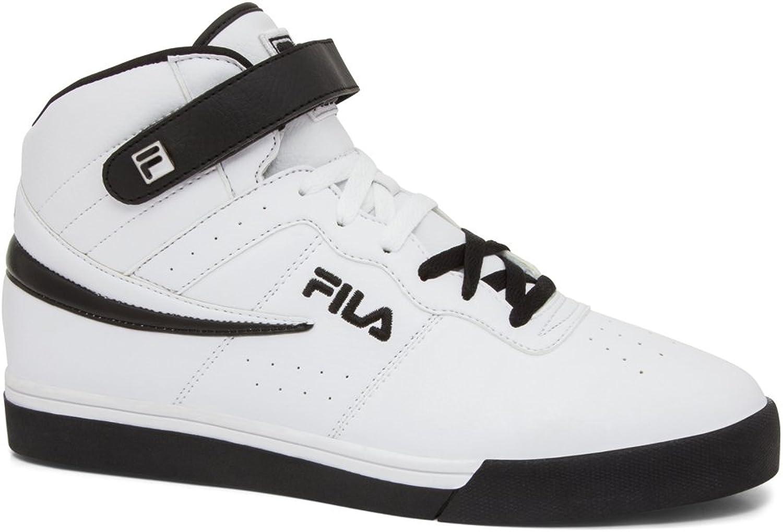 Film herrar Vulc 13 Mid Plus Mode skor, vit, vit, vit, Microsouede, Rubber, 17 M  det bästa urvalet av
