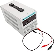 DC Power Supply 30V 10A US Standard Adjustable Regulated Power Supply with Power Line and Test Line