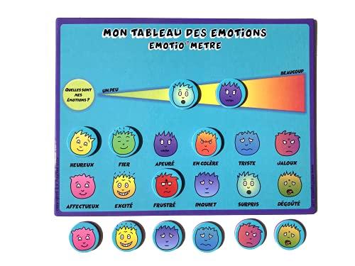 EMOTIO Tableau des émotions magnétique