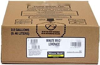 Minute Maid Lemonade Syrup 2.5 Gallon Bag in Box BIB