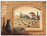 Artland Leinwandbild Wandbild Bild auf Leinwand 80x60 cm