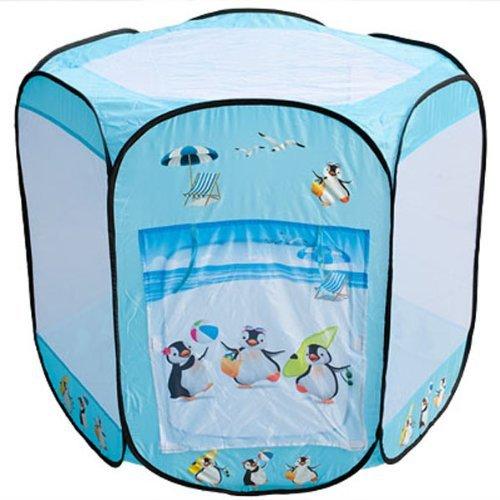 SOMMER PINGUINE großes Bällebad pop up Zelt mit 400 bunten Bällen