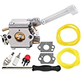 Fuel Li 308054079 Carburetor for Ryobi RY08420 RY08420A Bp42 Backpack Blower with 530069247 Repower Parts Kit