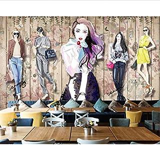 Papel Tapiz Moda Hecho A Mano Belleza Ropa Aparador Fondo Muro Decorativo Mural Papel Tapiz 3D Papel Peint
