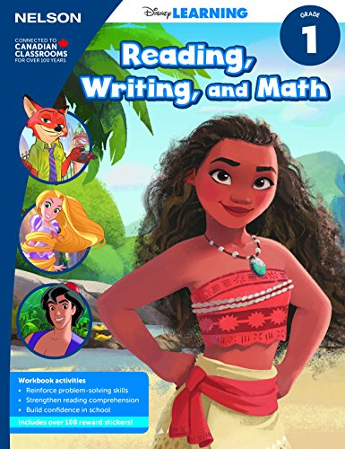 Disney Learning Reading, Writing and Math 1 Workbook
