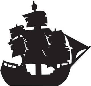 Anderson's Black Ship Lifesize Cardboard Standup