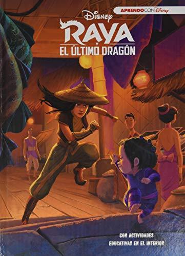Raya y el último dragón (Leo, juego y aprendo con Disney): Con actividades educativas en el interior