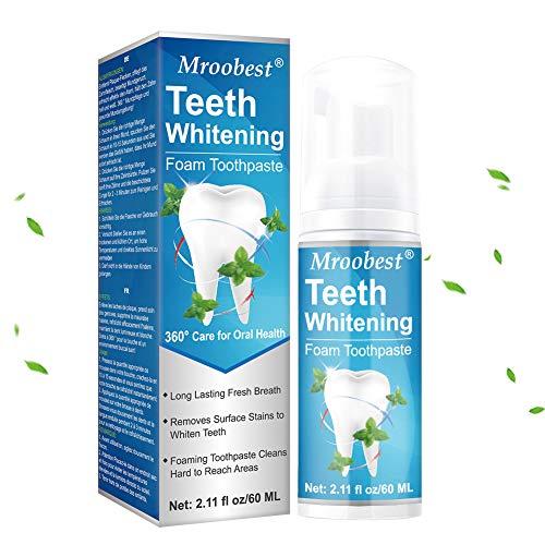 Zahnaufhellung, TeethWhiteningToothpaste, Tooth Mousse Zahnpasta, SodaZahnpasta, Leistungsstarke Fleckentfernung, Reparatur uon Zahnfleischbluten, Natürliche Zahnaufhellung