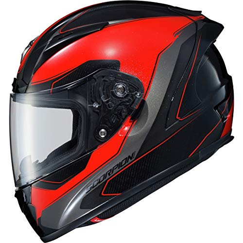 Scorpion EXO R2000 Helmet - Hypersonic (X-Small) (RED)