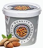 ''PuNuts'' Mantequilla de Almendras, Textura Crujiente, Sin Grasa de Palma, 100% Natural Crema de Almendras 1kg (Almendras)