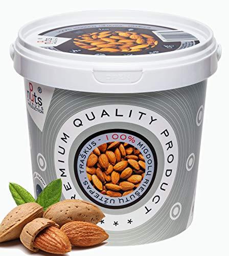 """Punuts"" Croccante Burro Di Mandorle 100% Naturale Da 1kg | Senza Zucchero, Non OGM (crema di mandorle)"