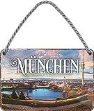 """schilderkreis24 – Blechschild """"München """" Stadt"""