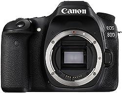 Canon EOS 80D best DSLR cameras 2019