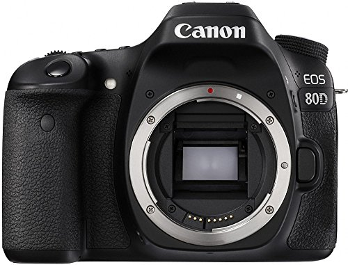 Canon Digital SLR Camera Body [EOS 80D] with 24.2 Megapixel (APS-C)...