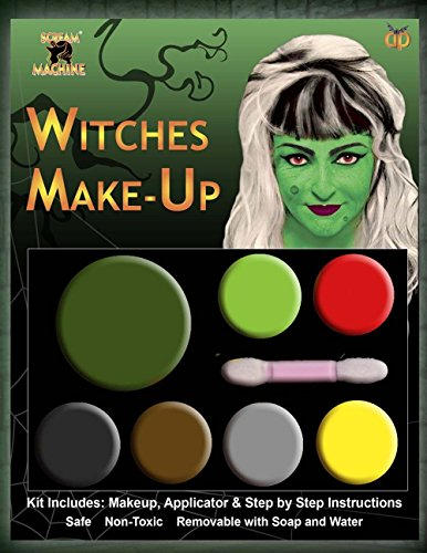 Halloween Scary Multi Pallet make-up kit gezicht verf Fancy jurk accessoire