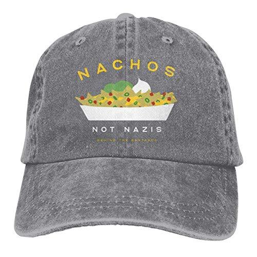 Nachos Not Nazis Vintage Baseball Cap Trucker Hat for Men and Women