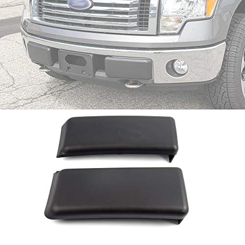 2Pcs Front Bumper Guards Pads Inserts Caps Cover Compatible with Ford F-150 F150...