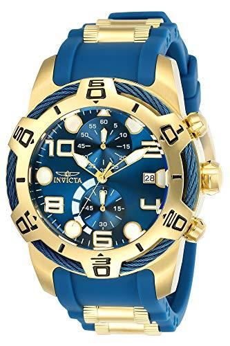 Invicta 24217 Bolt Reloj para Hombre acero inoxidable Cuarzo Esfera azul