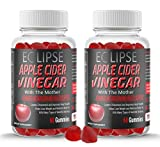 (2-Pack) Apple Cider Vinegar Gummies with The Mother - Advanced Metabolism and Health Support - 120 Gummies - Organic, Vegan, Gluten-Free, Non-GMO - Made in The USA - by Eclipse