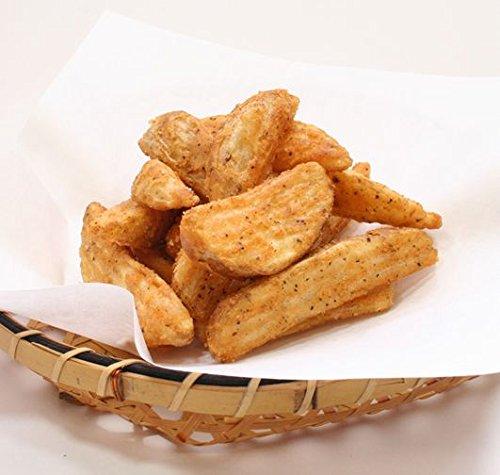 ウェッジカットクリスピー 1kg(ガーリック)(nh523960)(ポテトフライ フライドポテト)お子様に大人気ポテトフライ!