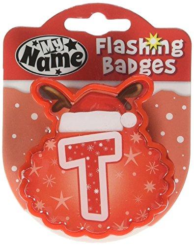 John Hinde T My Name Flashing Badge