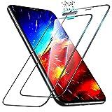 ESR Protector de Pantalla Compatible con iPhone 11 Pro MAX/iPhone XS MAX, Cristal Templado Ultrarresistente con Protección para Altavoz, 2 Unidades