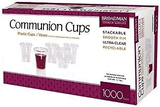 Broadman Church Supplies: 1000 Plastic Communion Cups