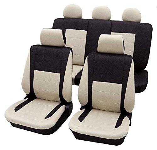 Cars-Design Elegance beige 16886 Schonbezug Sitzbezug Autoschonbezug Schonbezüge für dir unten angegebenen Fahrzeuge