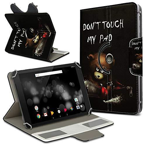 UC-Express Archos 101 Platinum 3G Tablet Hülle Tasche Schutzhülle Case Schutz Cover Drehbar, Farbe:Motiv 1