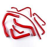 LUXERAD 3 Layer 4.5mm Performance Motorcycle Hose For SUZUKI GSXR 600 750 2006-2010 K7 K8 K9 (red)