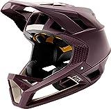 Casco para bicicleta de montaña Fox Enduro Proframe Matt – violeta oscuro, Spring 2020., color morado, tamaño large