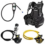 Cressi Start Scuba Diving BCD, Regulator, Console, Octopus, Dive Gear Package.