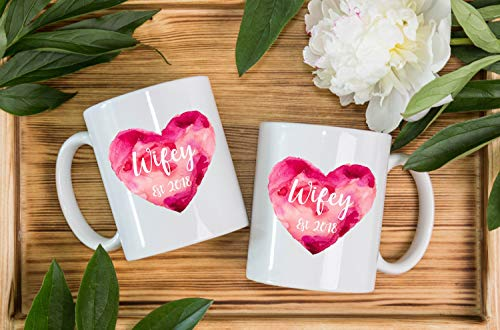Personalised Same Sex Lesbian Couples Wifey Mugs Wedding Gift Present Mrs Mrs Gift Couples Gift Anniversary Gift Personalized Wsdmug1349