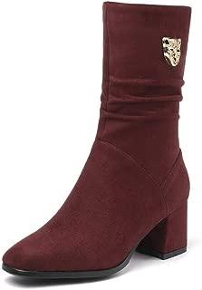 BalaMasa Womens ABS14194 Pu Boots