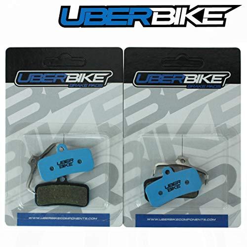 Uberbike Shimano MT-520 N03A N04C H01A H03C 4 pistones E-Bike/Endurance Disc Pastillas de freno – 2 pares
