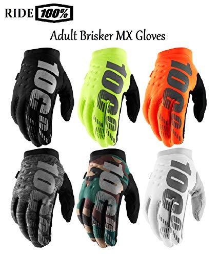 guanti per motocross 100 Percent Brisker - Guanti da Motocross per Adulti
