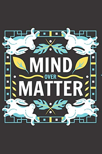 Mind over Matter: Blank Lined Journal Coworker Notebook (Funny Office Journals)