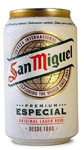 MEGAPACK San Miguel Cerveza en Lata de 33cl - 184 LATAS - Total de 60,72 Litros - Envío 24/48H incluido