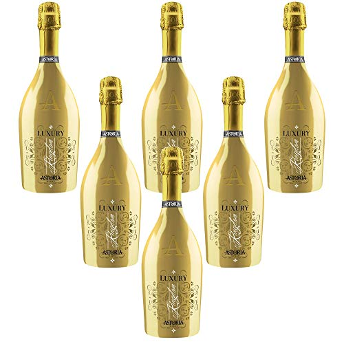 Sekt Spumante Cuvée LUXURY GOLD dry Astoria Italienischer Sekt (6 flaschen 75 cl.)