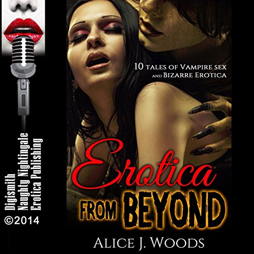 Erotica from Beyond audiobook cover art