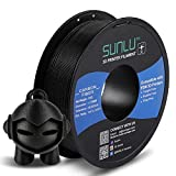 SUNLU Carbon Fiber PLA filament 1kg 1.75mm 3D Printer Filament, Dimensional Accuracy +/- 0.02 mm,...